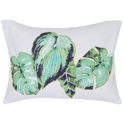 Red Pineapple Kala Leaf Decorative Pillow
