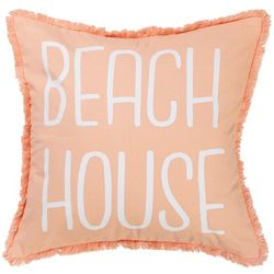 Red Pineapple Ocho Rios Beach House Decorative Pillow