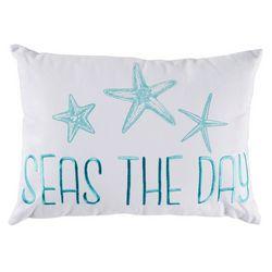 Coastal Home Seas The Day Decorative Pillow