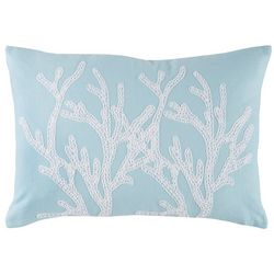Coastal Home Breezy Blues Tropical Punch Decorative Pillow