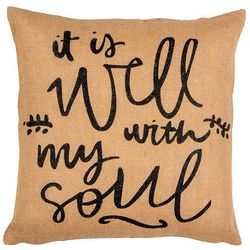 Elise & James Home Well With My Soul Decorative Pillow