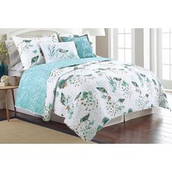 Coastal Home Sandy Pipers Quilt Set