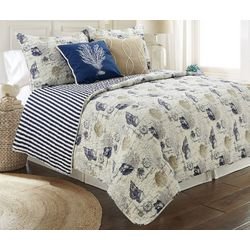 Coastal Home Canton Quilt Set