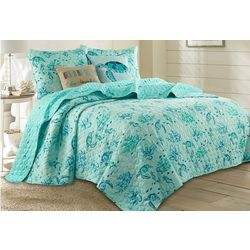 Coastal Home Fanta Sea Quilt Set