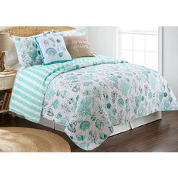 Coastal Home Avoca Coast Quilt Set