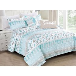 Coastal Home Sophisticated Sea Quilt Set