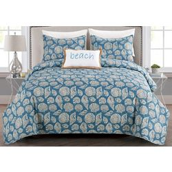 Coastal Home Hallie Quilt Set