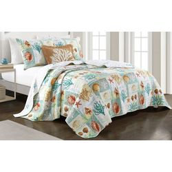 Coastal Home Seaside Beauty Quilt Set