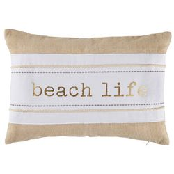 Coastal Home Beach Life Decorative Pillow