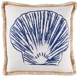 Coastal Home Terrance Reef Shell Decorative Pillow