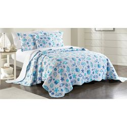 Coastal Home Kiki Shells Bedspread Set