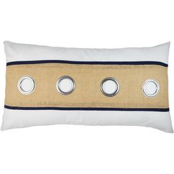 Elise & James Home Hallie Grommet Pillow