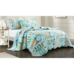 Coastal Home Marco Cottage Bedspread Set