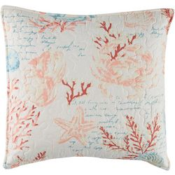 Coastal Home Seton Bay Quilted Decorative Pillow