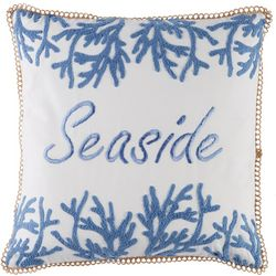 Coastal Home Delta Stripe Seaside Reef Decorative Pillow