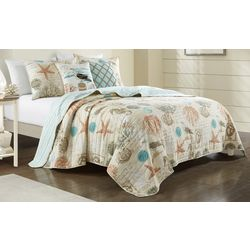 Coastal Home Everly Quilt Set