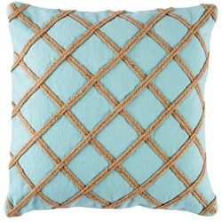 Coastal Home Everly Bliss Rope Decorative Pillow