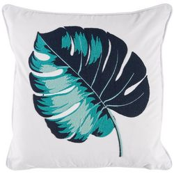 Red Pineapple Selena Palm Leaf Decorative Pillow