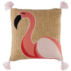 Coastal Home Valary Flamingo Decorative Pillow