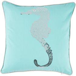 Coastal Home Jackie Seahorse Syra Decorative Pillow