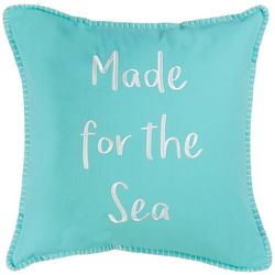 Red Pineapple Discovery Bay Made For The Sea Pillow