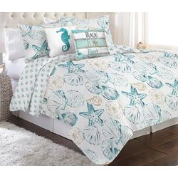Coastal Home Shelly Quilt Set