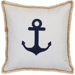 Tackle & Tides Anchor Twine Decorative Pillow