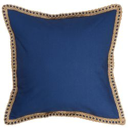 Red Pineapple Rosemary Marco Navy Decorative Pillow