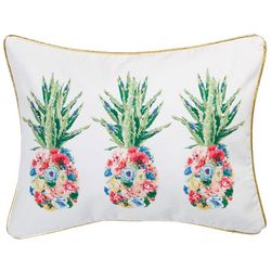 Red Pineapple Monroe Pineapple Decorative Pillow