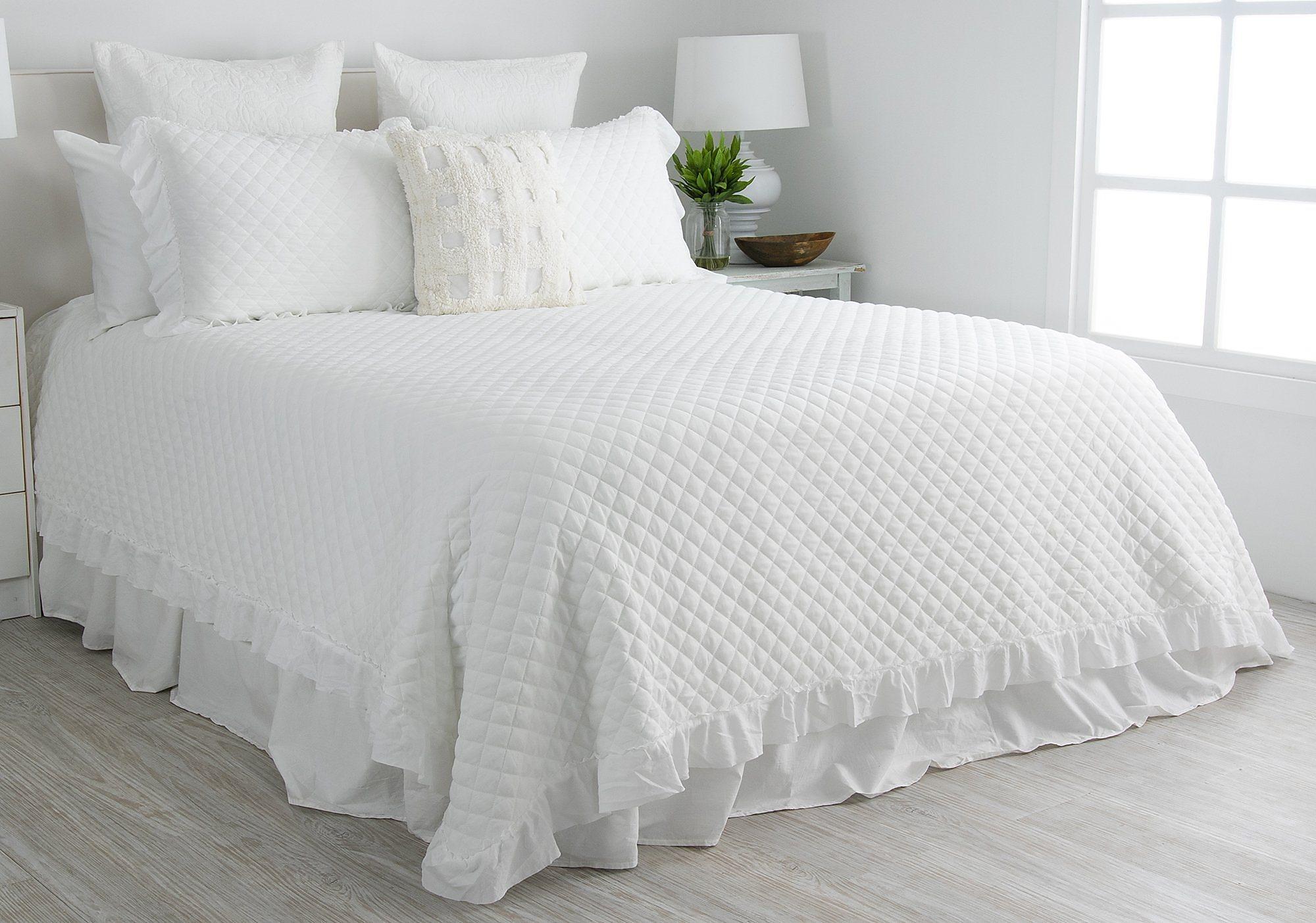 Elise Amp James Home Calab Ultra Soft Quilt Set Ebay