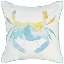 Red Pineapple Rainbow Crab Decorative Pillow