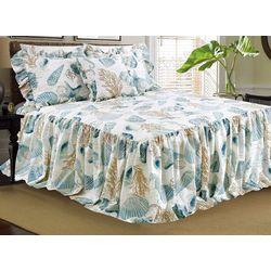 Elise & James Home Ocean Retreat Ruffle Bedspread Set