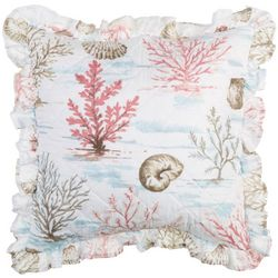Elise & James Home Bonita Ruffle Decorative Pillow