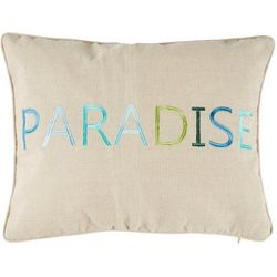 Red Pineapple Lando Paradise Decorative Pillow