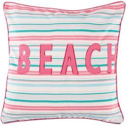 Red Pineapple Harley Shells Beach Decortive Pillow