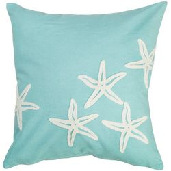 Coastal Home Southbound Starfish Decorative Pillow