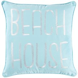 Red Pineapple Beach House Decorative Pilllow