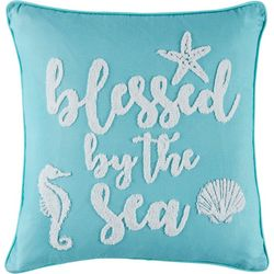 Red Pineapple Livia Blessed By The Sea Decorative Pillow