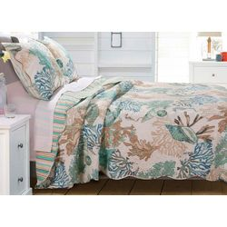 Greenland Home Fashions Atlantis Quilt Set