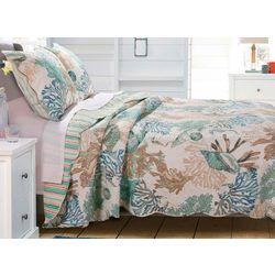 Greenland Home Fashions Atlantis Quilt Set
