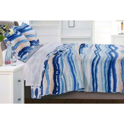 Greenland Home Fashions Crystal Cove Quilt Set
