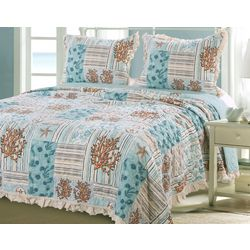 Greenland Home Fashions Key West Quilt Set