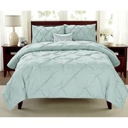 Cathay Home Pintuck Comforter Set