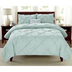 Cathay Home Pintuck Comforter Set