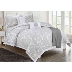 Cathay Home Ellen Tracy Damask Comforter Set