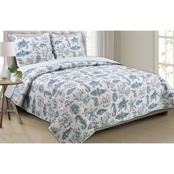 Panama Jack Sandy Sea Quilt Set
