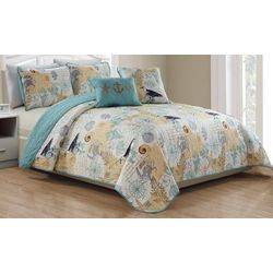 Panama Jack Sandy Piper Quilt Set