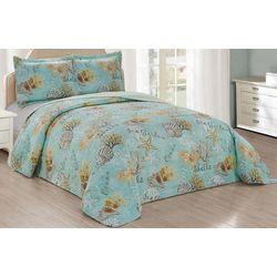 Jardin 3-pc. Sea Garden Bed Spread Set