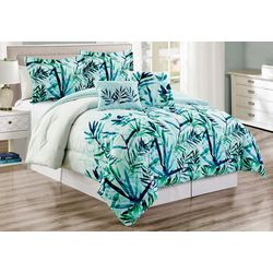 Panama Jack 5-pc. Cascading Leaves Comforter Set