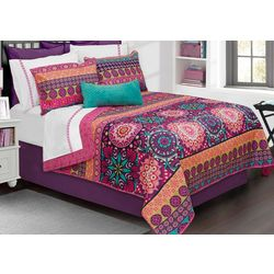 Colour Your Home Aiyana Comforter Set
